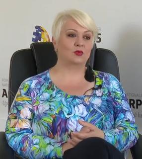 Monica Anghel Romanian singer and TV star