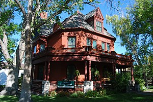 Montana Governor's Residence - Image: Montana Original Governors Mansion
