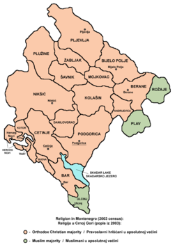 Montenegro religion2003.png