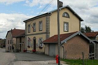Montmotier Commune in Grand Est, France