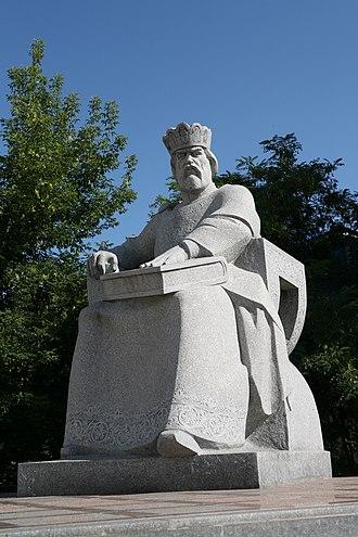 Yaroslav the Wise - Monument to Yaroslav the Wise in Kiev