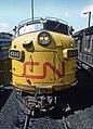 More CN Power at Spadina Yard and a Garbage Can -- 6 Photos (34833145625).jpg