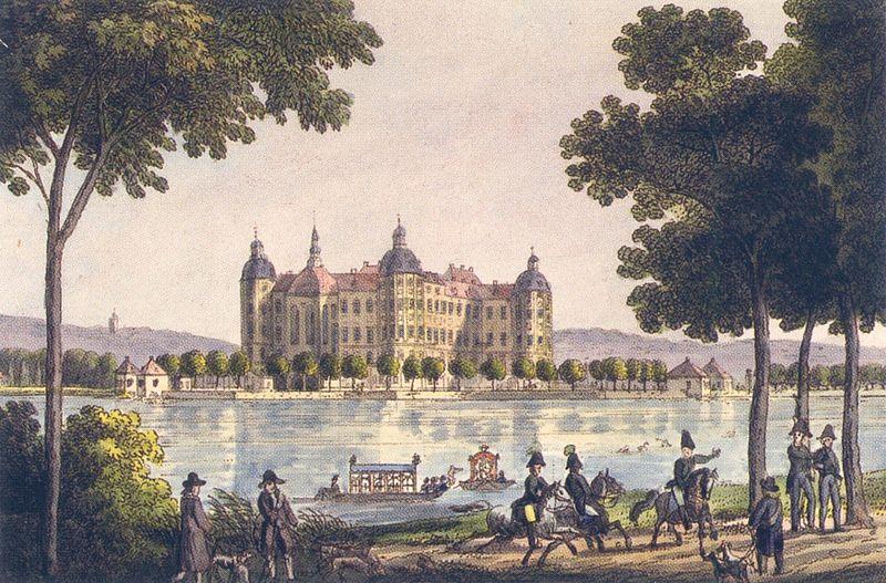 Soubor:Moritzburgum1800.jpg