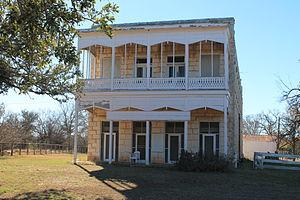 Morris Ranch, Texas - The old Morris Ranch Hotel