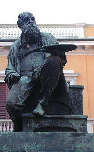 Mosè Bianchi - Monument to Mosè Bianchi in Monza