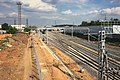 Moscow, new MCC tracks west of Vladykino platform (31536217206).jpg