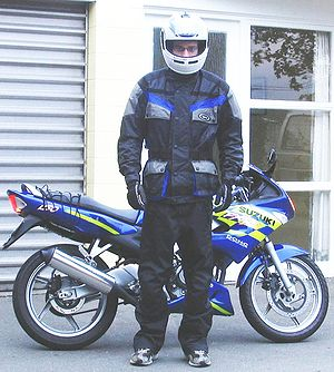 Motorbike safety gear