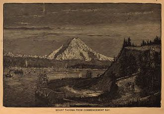 Commencement Bay - Image: Mount Tahoma