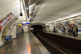 Mouton-Duvernet (Paris Métro) - Image: Mouton Duvernet metro station, Paris 6 April 2014 001