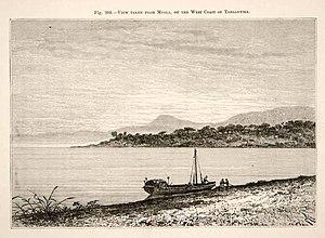 Léopold Louis Joubert - Lake Tanganyika at Mpala in 1892