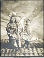 Mrs SteneTu and son Ravens in potlatch dancing custome costume Copyright 1906.jpg