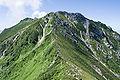 Mt.Minamikomagatake from Mt.Akanagidake 02.jpg