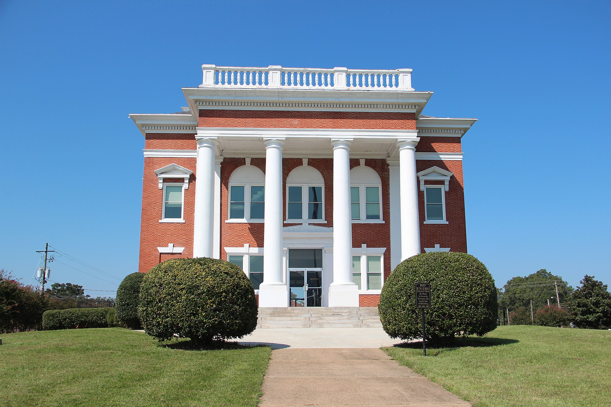 Murray County, Georgia Courthouse, Sept 2017