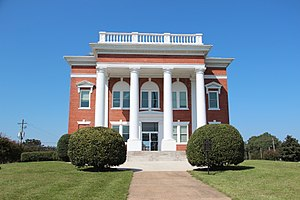 Murray County courthouse in Chatsworth