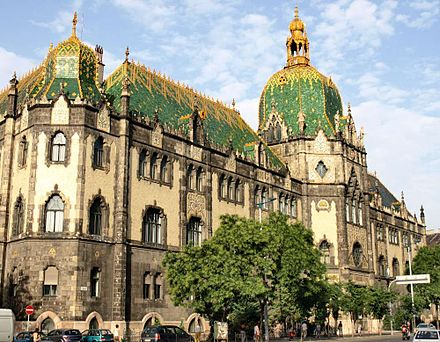 The Museum of Applied Arts, an Art Nouveau building designed by Odon Lechner Museum of Applied Arts (Budapest).jpg