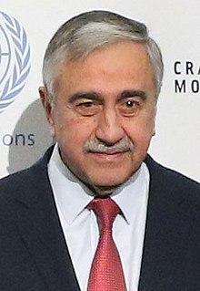Mustafa Akıncı Turkish Cypriot politician and architect