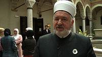 Mustafa Cerić in der islamisch-theologischen Fakultät in Sarajevo.jpg