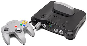 Mischief Makers - Image: N64 Console Set