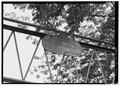 NAMEPLATE. - Sparkill Creek Drawbridge, Spanning Sparkill Creek at Bridge Street, Piermont, Rockland County, NY HAER NY,44-PIER,1-6.tif