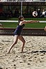 NCAA beach volleyball match at Stanford in 2017 (33431654805).jpg