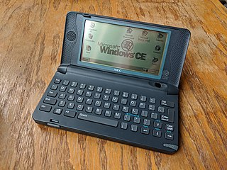 Handheld PC Computer that is significantly smaller than a laptop