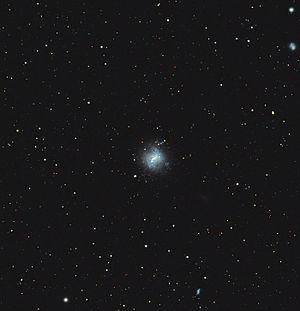 NGC 4214 - Amateur image of NGC 4214.