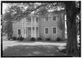 NORTH (FRONT) ELEVATION - Rock Castle, Indian Lake Road (Berry Lane), Hendersonville, Sumner County, TN HABS TENN,83-HEND.V,2-11.tif