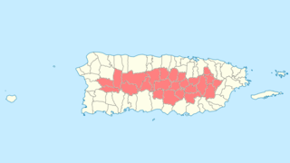 National Register of Historic Places listings in central Puerto Rico Places in central Puerto Rico listed on the US National Register of Historic Places