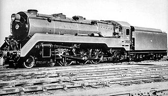 New South Wales C38 class locomotive - Non streamlined 3820