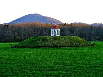 Nacoochee Mound - The Nacoochee Mound