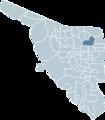 Nacozari Sonora map.png