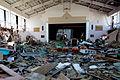 Nakano Elementary School's gymnasium after tsunami.jpg