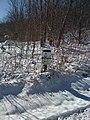 Nancy Hart Cemetery Sign - panoramio.jpg