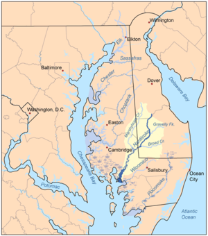 Nanticoke people - Nanticoke River