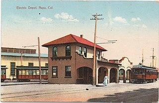 San Francisco, Napa and Calistoga Railway