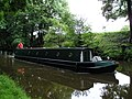 Narrow Boat on Lancaster Canal - geograph.org.uk - 509110.jpg