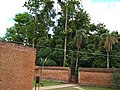 Narrow entry passage on the boundary wall of the Brindaban Chandra's Math.jpg