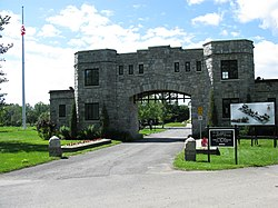 National Field of Honour Cemetery Gates.JPG