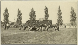 Navy–Johns Hopkins football rivalry - Image: Navy Johns Hopkins game 1911