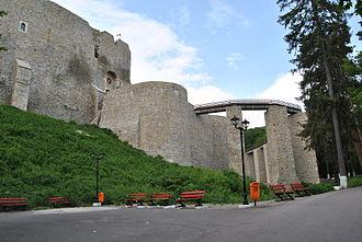 Târgu Neamț - Neamţ Citadel, located on Pleşu hill