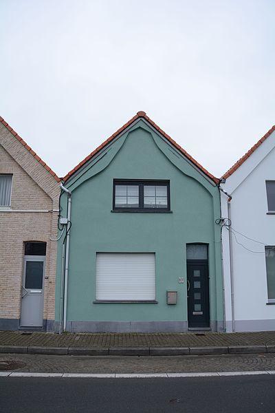 """Nederzwalmsesteenweg 89, Zingem deel van Arbeidershuizen, genaamd """"Acht huizen"""""""