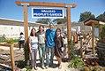 "Neighborhood activist Vilma, Forest Service employee Amanda, lead garden volunteer Tom, and ""Global Center for Success"" life skills job training center director Sister Elvie (5809213372).jpg"
