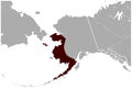 Nelson's Collared Lemming Dicrostonyx nelsoni distribution map 2.png