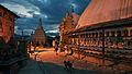 Nepal Kathmandu Swayambhunath Night Swayambhunath 6 (full res).jpg