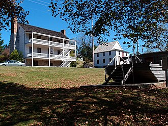 National Register of Historic Places listings in Hawkins County, Tennessee - Image: Nethinnboatyard