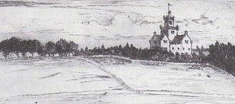 Nettlehirst - A view of Nettlehirst House