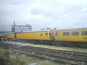 British Rail Class 901 - 901001 at RVE Derby on 28 September 2007.