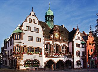 Freiburg im Breisgau - Freiburg City Hall (Rathaus)