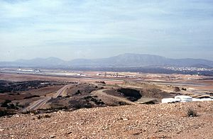 Athens International Airport - Athens International Airport under construction in June 2000