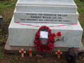 New Bradwell War Memorial - Base of memorial.jpg